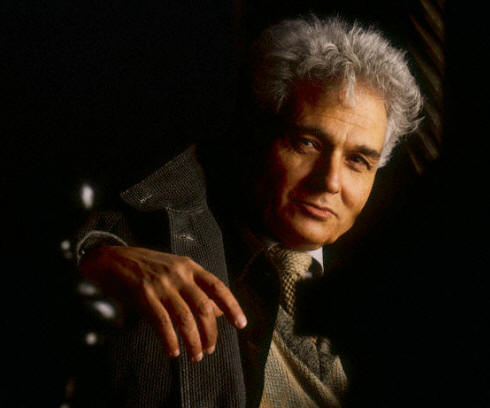 French philosopher Jacques Derrida 1986
