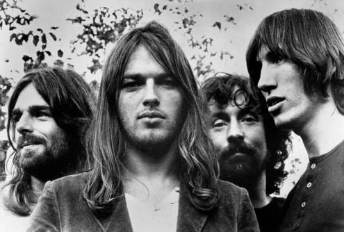Pink Floyd: Rick Wright, Dave Gilmour, Nick Mason, Roger Waters
